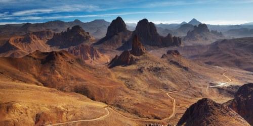 Sahara desert in Algeria