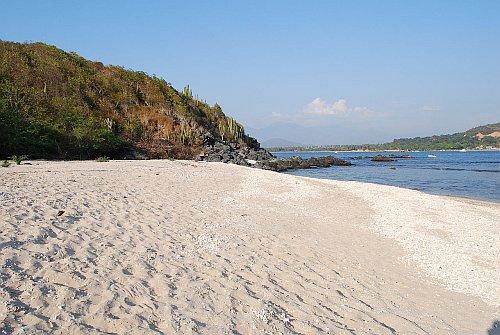 A beach in Ixtapa, Mexico