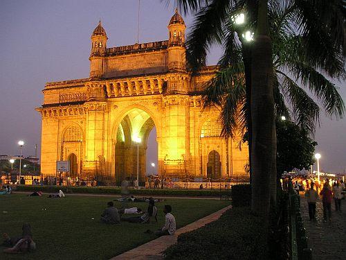 Gateway of India in Mumbai Bombay, India