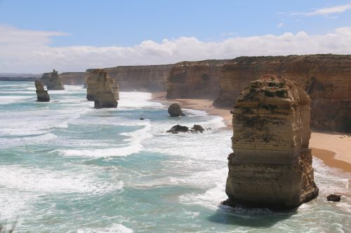 The Great Ocean Road near Melbourne, Australia
