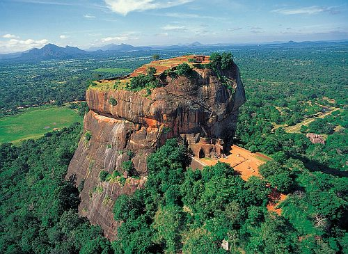 The Sigiriya Rock Fortress of Sri Lanka