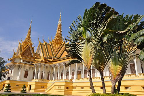 The Royal Palace in Phnom Penh, Cambodia